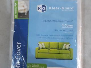 Kleer Guard Sofa Cover 134 by 32 inch