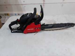 Craftsman 16 inch Chainsaw Used