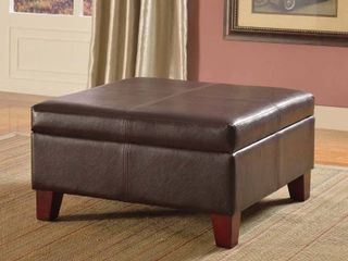 Copper Grove Rillieux large Brown Storage Ottoman Brown large Retail 116 87