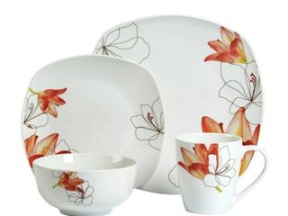 Tabletop Gallery 16pc Dinnerware Set lily