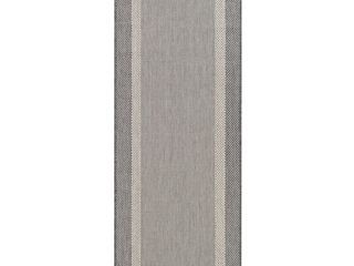 Dream Decor Rugs Runner Champagne Grey Pergola Channel