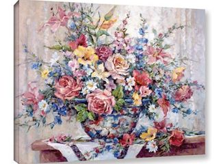 Barbara Mock s Garden Glory  Gallery Wrapped Canvas 36 x 48 Retail 112 49