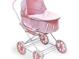 Badger Basket Just like Mommy 3 in 1 Doll Pram Carrier Stroller Pink Gingham