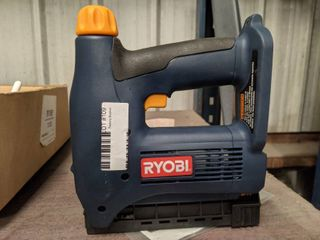 Ryobi 18v Cordless Nailer Stapler  Factory Reconditioned  Tool Only