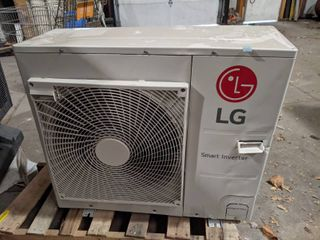 lG 24 000 BTU 17 SEER High Static Ducted Single Zone Heat Pump  Outdoor   New and Unused