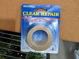 ClEAR REPAIR POlY TAPE