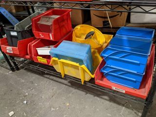 20 Assorted Plastic Bins