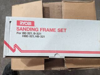 10  RYOBI SANDING FRAME SETS  NEW IN THE BOX