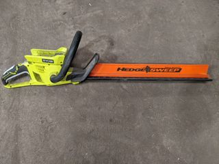 RYOBI 24  HEDGE TRIMMER  TOOl ONlY