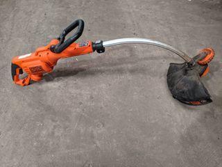 Black   Deckker 14  Electric String Trimmer GH3000