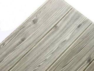 New Wood Grain Wall Sticker  Perfect For Wall Decal  Gray 10pc