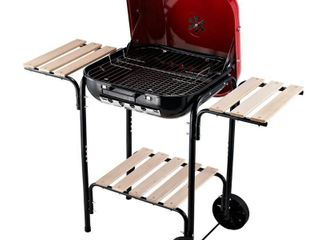 Outsunny Steel Portable Outdoor Charcoal Barbecue Grill