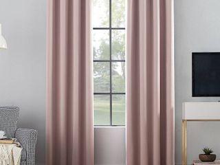 1 pair  Sun Zero Oslo Theater Grade Extreme Total Blackout Grommet Curtain panels
