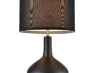 Black  light Society Kurvena Table lamp Retail 79 98