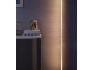 Iris 59 5 inch Chrome lED Integrated Floor lamp by JONATHAN Y   59 5  H x 8  W x 8  D Retail 168 49