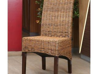 International Caravan Java Rattan Mahogany Dining Chair Retail 108 99