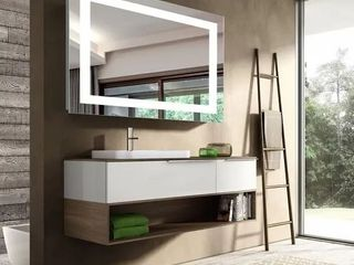 40 x31 9  Smart Backlit lED Illuminated Fog Free Vanity Mirror With light And Dimmer Retail 255 49