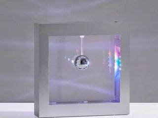 Silver Orchid Jacobini Disco Ball light Box