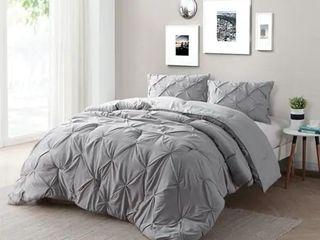 Carbon loft Turner Alloy Pin Tuck Comforter King