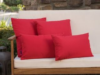 Coronado Outdoor Pillow  Set of 4  by Christopher Knight Home