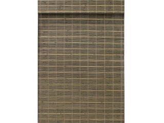 Radiance Cordless Driftwood Bayshore Bamboo Roman Shade