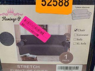 Flamingo P Blue Chair Slipcover