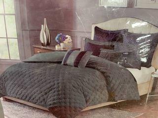 Signature MadisonPark luxury nine piece comforter set king