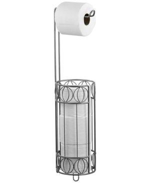 Home Basics Satin Nickel Seville Toilet Paper Holder