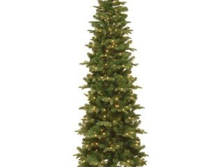Prescott 6 5 foot Pencil Slim Tree with Clear lights Retail 170 99