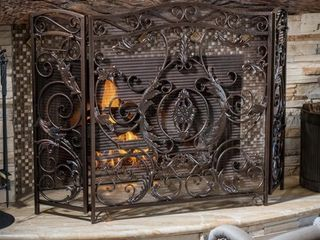 Waterbury Fireplace Screen by Christopher Knight Home Retail 146 49