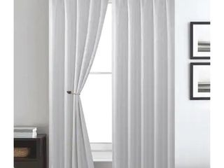 1 pair  Gracewood Hollow Brahmabhatt Rod Pocket Single Window Panel