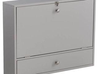 Wall Mount laptop Desk Universal Style in Gray