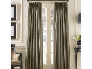 Curtainworks Marquee Solid Room Darkening Pinch Pleat Curtain Panels