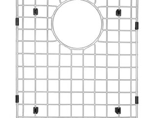 Karran 12 in  x 14 1 4 in  Stainless Steel Bottom Grid