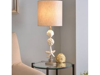 Concha Silvered Gold with Mother of Pearl Accents Table lamp