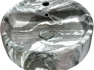 ANZZI Rhapsody Series Ceramic Vessel Sink in Neolith Marble Finish Retail 171 99