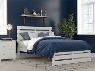White Full Oxford Bed with Footboard and USB Turbo Charger Retail  299 99