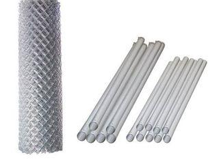 AlEKO Galvanized Steel Chain link Fence 5X50 Feet Complete Kit Retail 437 49