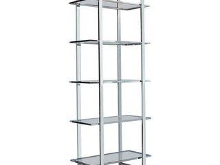 Silver Orchid Borgstrom 5 tier Bookcase Retail 268 49