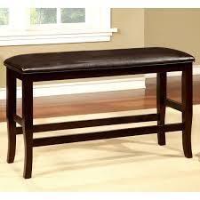 furniture of America zita counter height bench brown
