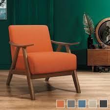 levine Accent Chair  Retail 199 99 orange