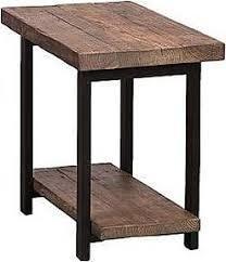 Carbon loft lawrence 2 shelf Rustic End Table  Retail 198 54 brown
