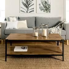 Carbon loft Witten 48 inch Angle Iron Coffee Table   Barnwood  Retail 185 27