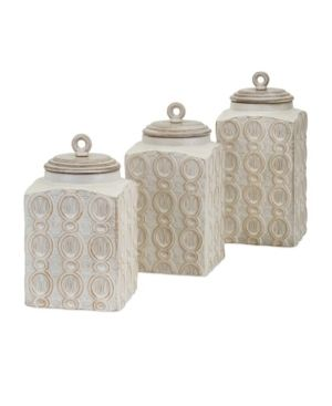 Canister Dreanna Canisters Set of 3 Retail  138 99