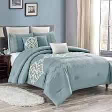 elight home luxury comforter set queen 8 pc Retail 116 99