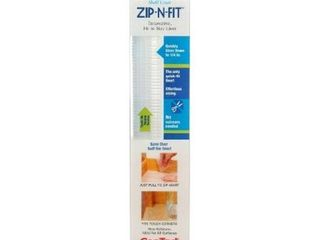 Ribbed Clear Con Tact Brand Zip N Fit Ribbed Clear Non Adhesive Non Slip Shelf and Drawer liner  Pack of 6