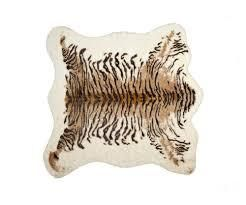 faux hide rug 5 3  x 7 6    Tiger  Retail 139 99