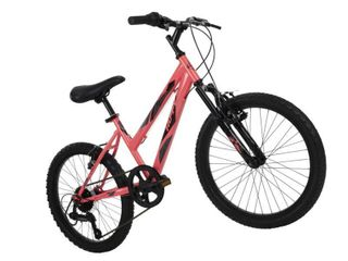 Uniex Mountain Bike Full Bicycle 20 Inch 6 speed Steel Frame Hardtail Ride Cycle   Not Inspected