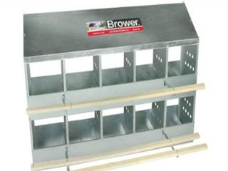 Brower 410B Poultry 10 Hole Nest