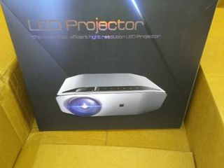 lED PROJECTOR   NOT INSPECTED   See pics for details an info